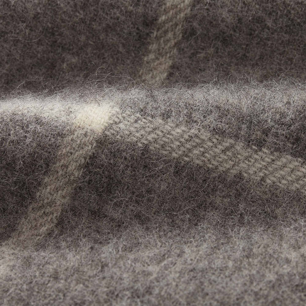 Saldus Wool Blanket grey & cream, 100% new wool | Find the perfect wool blankets