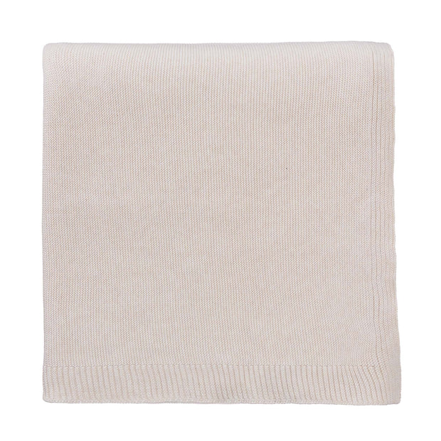 Salicos Blanket off-white melange, 100% cotton