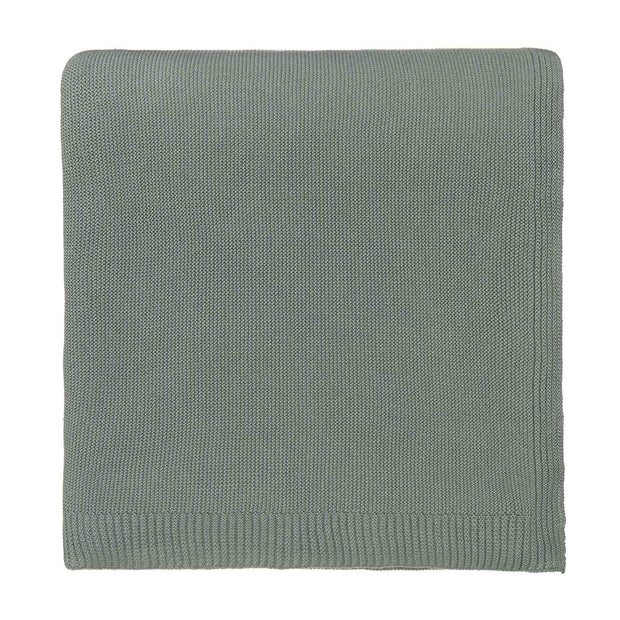 Salicos Blanket light green grey, 100% cotton