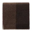 Salos Alpaca Blanket brown, 50% alpaca wool & 50% lambswool