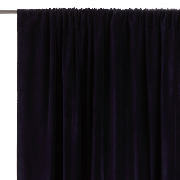 Samana Velvet Curtain in dark blue | Home & Living inspiration | URBANARA