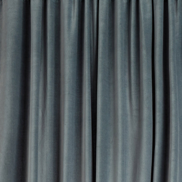 Samana Velvet Curtain green grey, 100% cotton | Find the perfect curtains