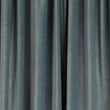 Samana Velvet Curtain Set [Green grey]