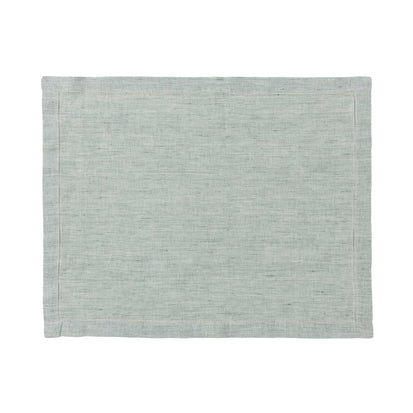Sameiro Place Mat green grey, 100% linen