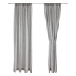Sameiro curtain, grey, 100% linen |High quality homewares