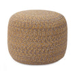 Shopal pouf, mustard, 100% cotton