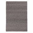 Sihora Rug grey melange, 60% wool & 40% cotton | URBANARA wool rugs