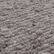 Sihora Rug grey melange, 60% wool & 40% cotton | Find the perfect wool rugs