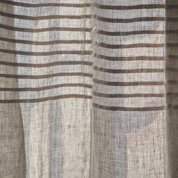Etova Curtain natural, 100% linen | URBANARA curtains