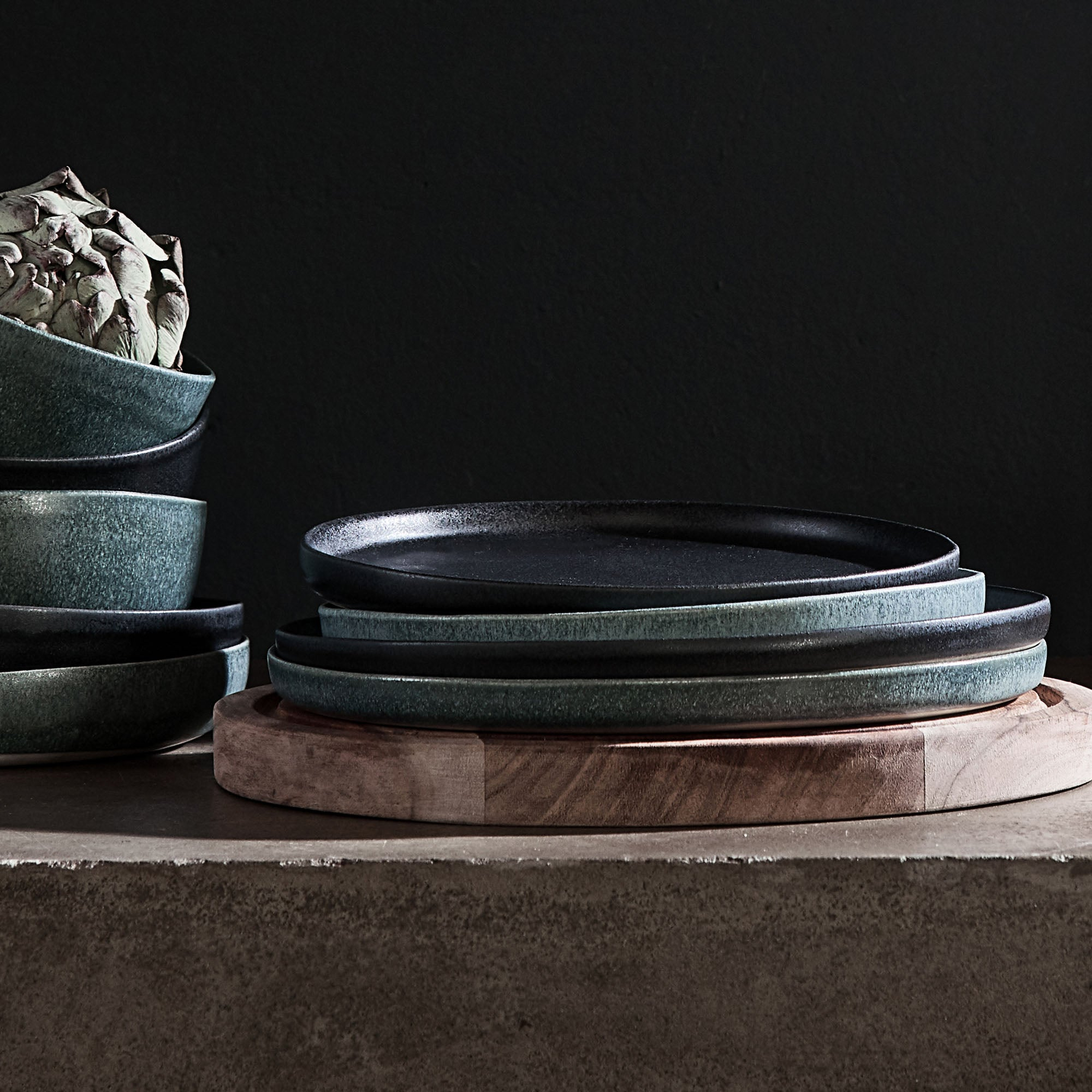 Grey green Malhou Teller | Home & Living inspiration | URBANARA