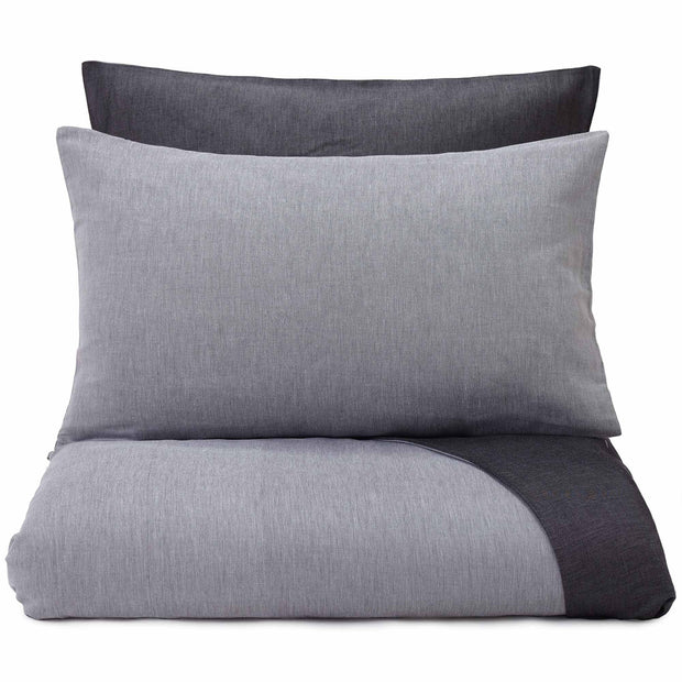 Sobral pillowcase, white & black, 100% cotton