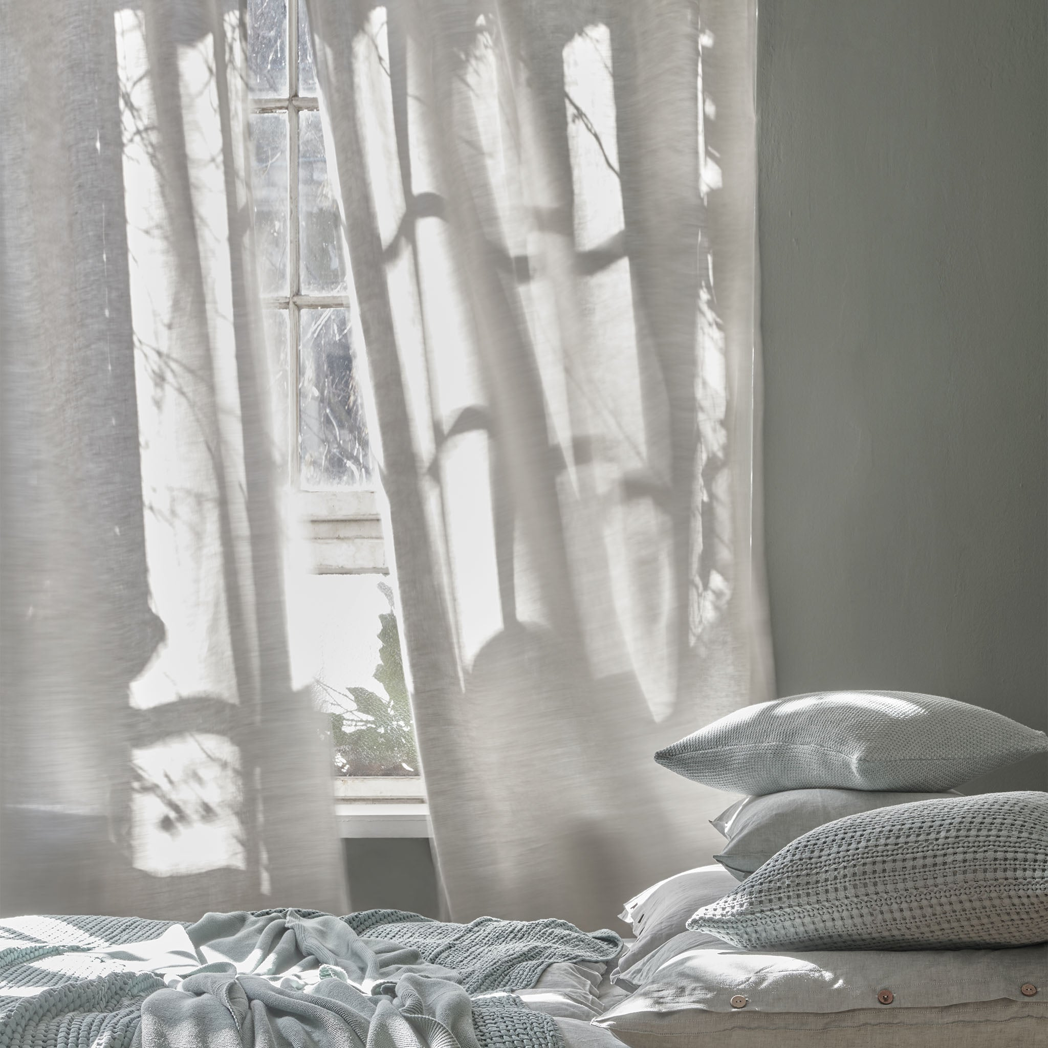 Zelva Curtain in natural | Home & Living inspiration | URBANARA