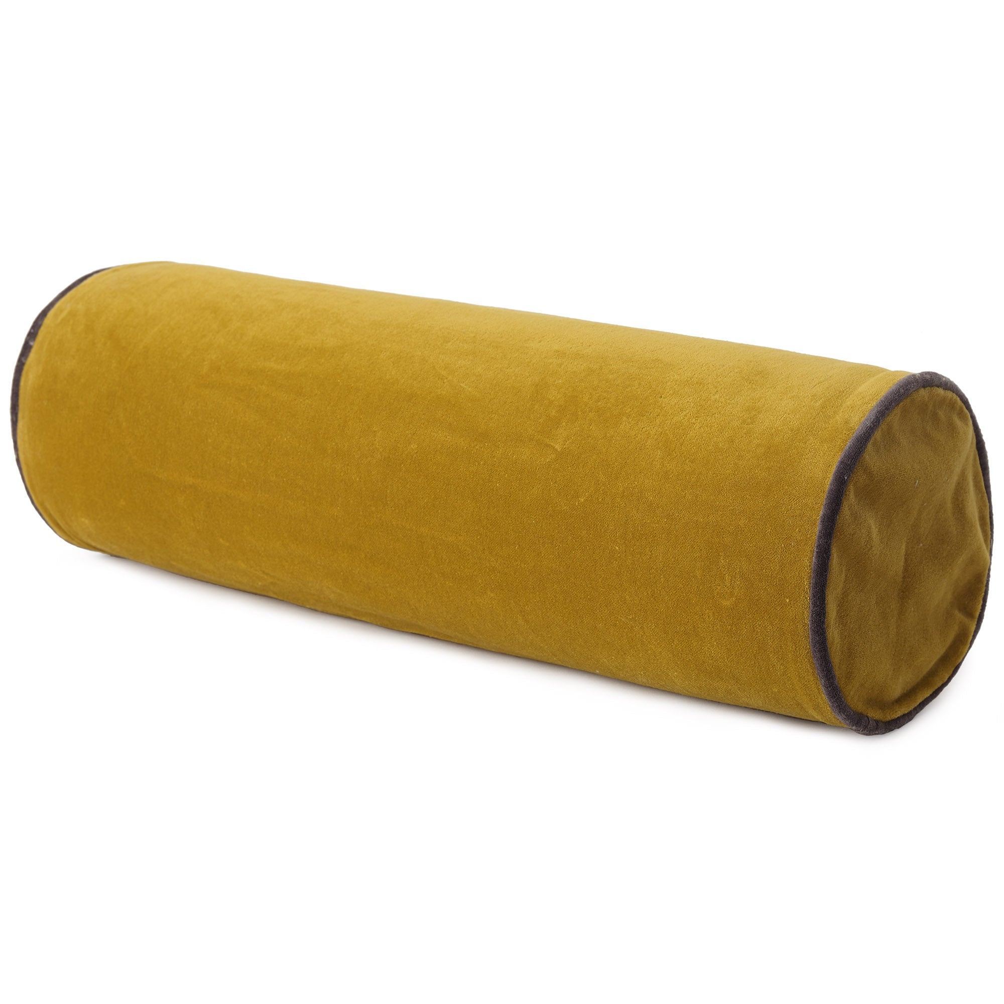 Suri Bolster [Bright mustard/Dark grey]