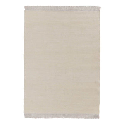 Tadali Wool Rug in natural white & off-white | Home & Living inspiration | URBANARA