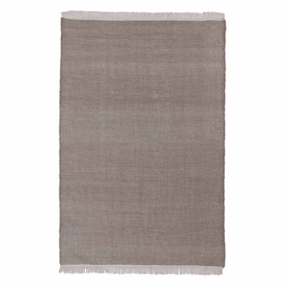 Tadali Wool Rug in silver grey & off-white | Home & Living inspiration | URBANARA