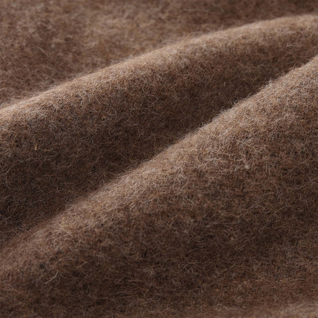 Tahua blanket, light brown, 50% alpaca wool & 50% lambswool | URBANARA alpaca blankets