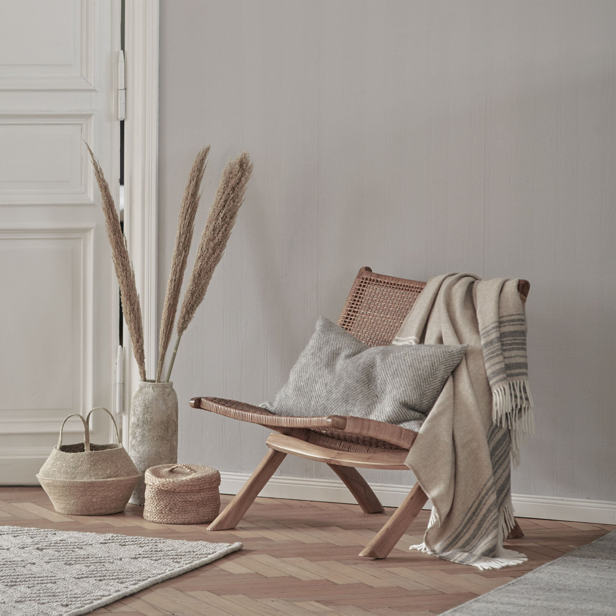 Bakaru Rattan Chair [Natural]