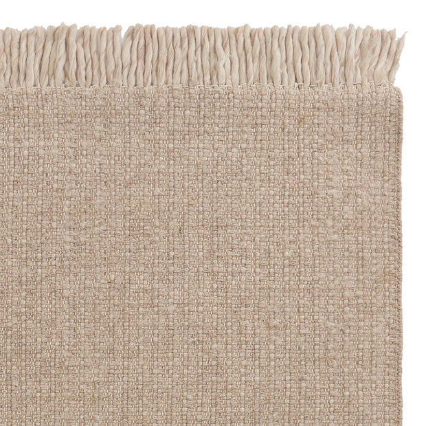 Thavar wool rug in natural & off-white | Home & Living inspiration | URBANARA
