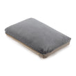 Tipani Cushion green grey, 100% cotton & 100% linen