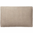 Tipani Cushion green grey, 100% cotton & 100% linen | High quality homewares