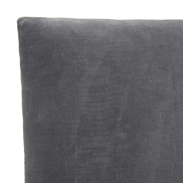 Tipani Cushion green grey, 100% cotton & 100% linen | URBANARA cushion covers