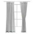 Tolosa Curtain Set green, 50% linen & 50% cotton