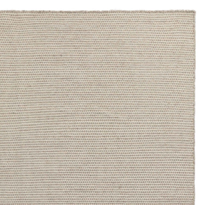 Udana runner, sandstone melange & natural white, 100% wool