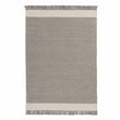 Vadi Wool Rug grey & natural white, 100% wool | URBANARA wool rugs