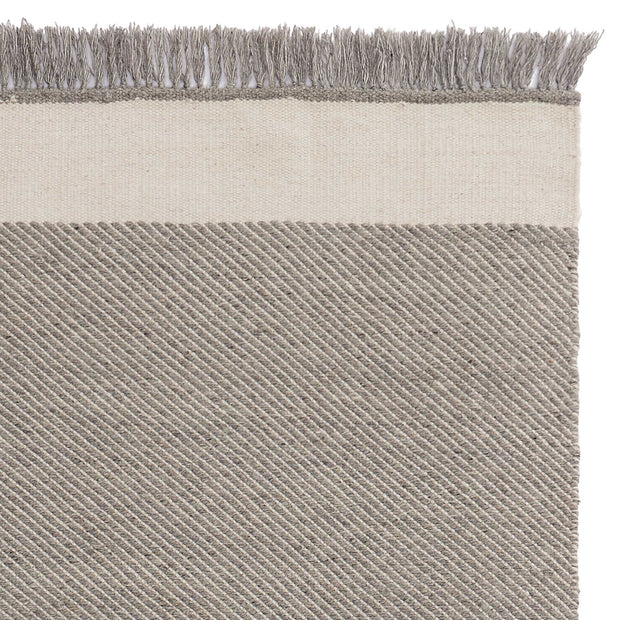 Vadi Wool Rug grey & natural white, 100% wool