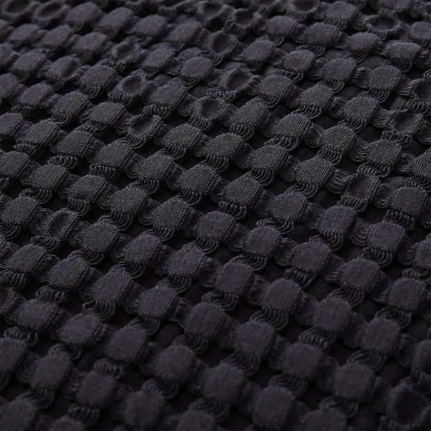 Veiros Sao Cushion charcoal, 100% cotton | Find the perfect cushion covers