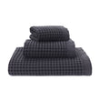 Veiros Towel charcoal, 100% cotton