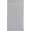 Ventosa beach towel, grey & white, 100% organic cotton