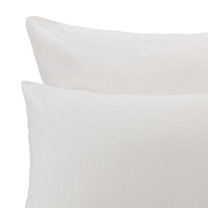 Vilar Duvet Cover in natural white | Home & Living inspiration | URBANARA