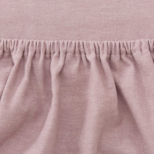 Vilar Flannel Fitted Sheet in light mauve | Home & Living inspiration | URBANARA