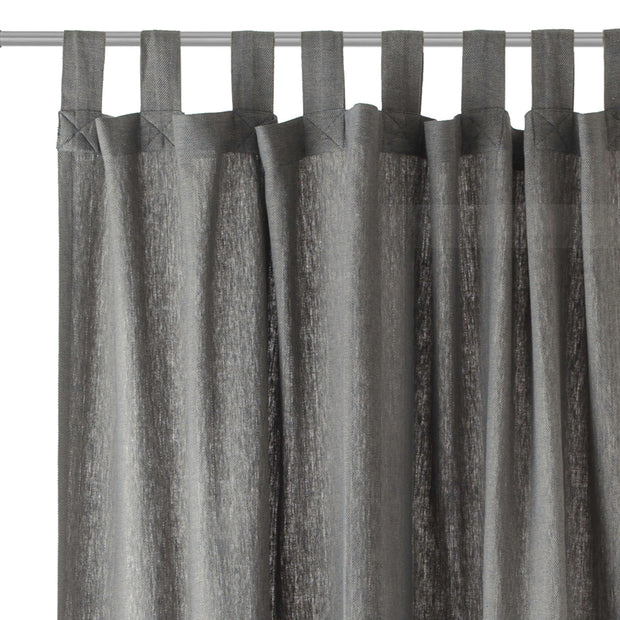 Vinstra Curtain Set in blue & natural white | Home & Living inspiration | URBANARA