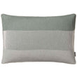 Viseu cushion cover, aloe green & ivory & green grey, 100% cotton