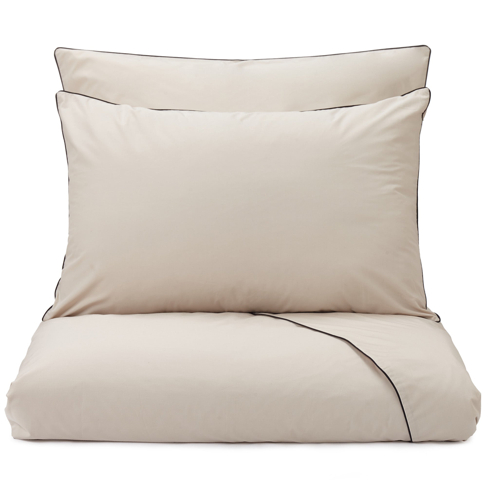 Vitero Pillowcase [Natural/Black]