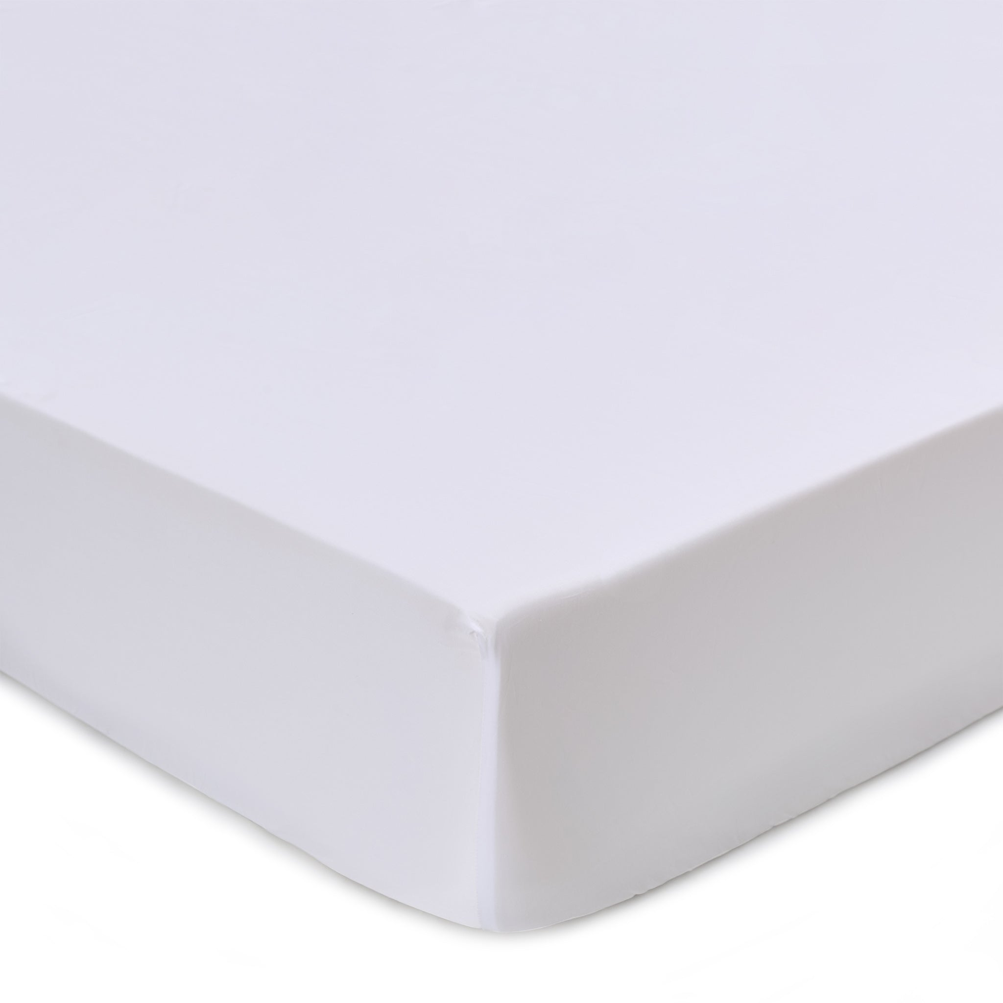 Vivy Fitted Sheet white, 100% cotton