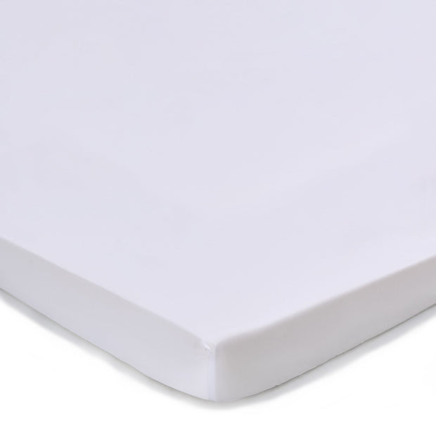 Vivy Mattress Topper Fitted Sheet white, 100% cotton