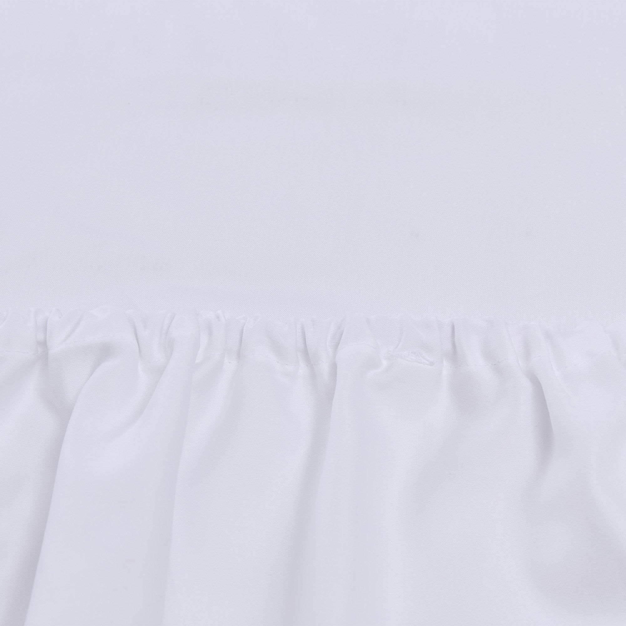 Vivy Fitted Sheet in white | Home & Living inspiration | URBANARA