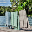 Nanzili Hammam Towel in green grey | Home & Living inspiration | URBANARA