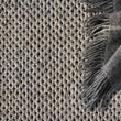 Lona rug, grey melange & ivory, 70% wool & 30% cotton |High quality homewares