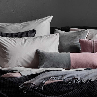 Silver grey Manteigas Bettdeckenbezug | Home & Living inspiration | URBANARA