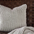Neiva cushion cover, off-white melange, 100% cotton |High quality homewares