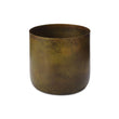 Zaroli Planter brass & mustard, 100% metal