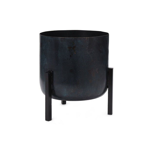 Zaroli Planter black, 100% metal