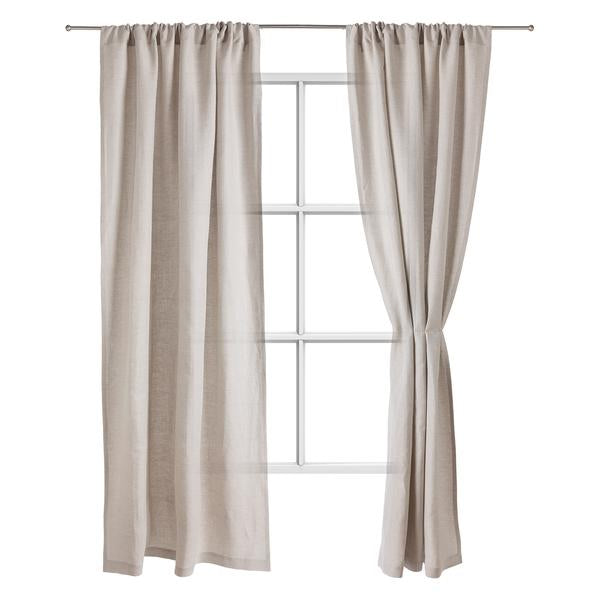 Zelva Curtain natural, 100% linen