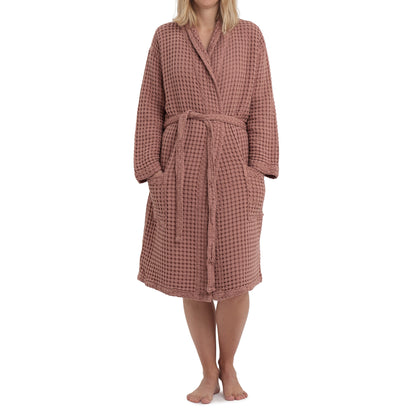 Veiros Bathrobe [Dusty pink]