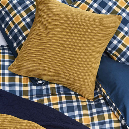 Antua Cushion in bright mustard | Home & Living inspiration | URBANARA
