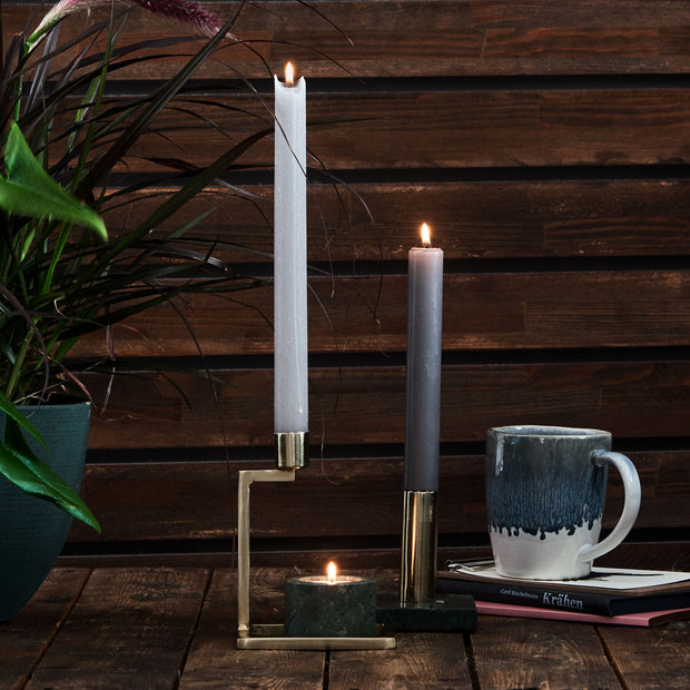 Betwa Candle Holder in brass | Home & Living inspiration | URBANARA
